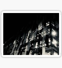 """Rising"" Monochrome Photography Sticker"