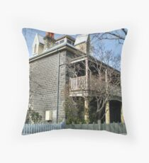 House Circa late 1880's - Williamstown, Vic. Throw Pillow