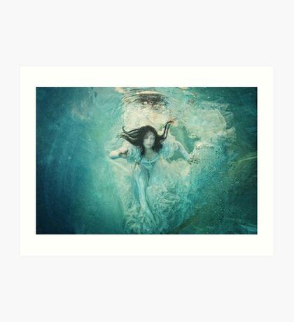 OCEANIC FAIRYTALES - The maiden's stride Art Print