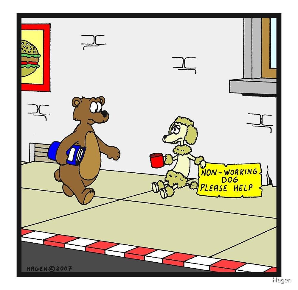 Non-working dog by Hagen