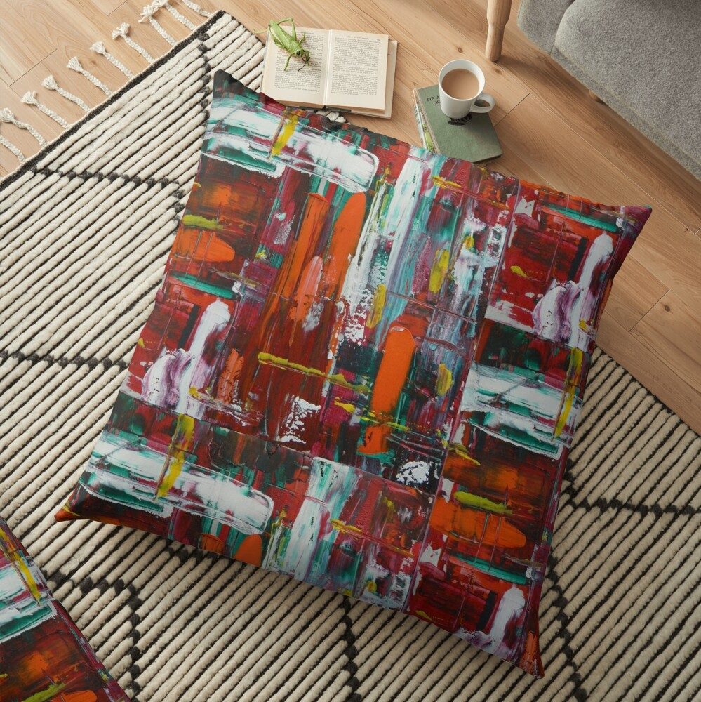 AbunDance Floor Pillow