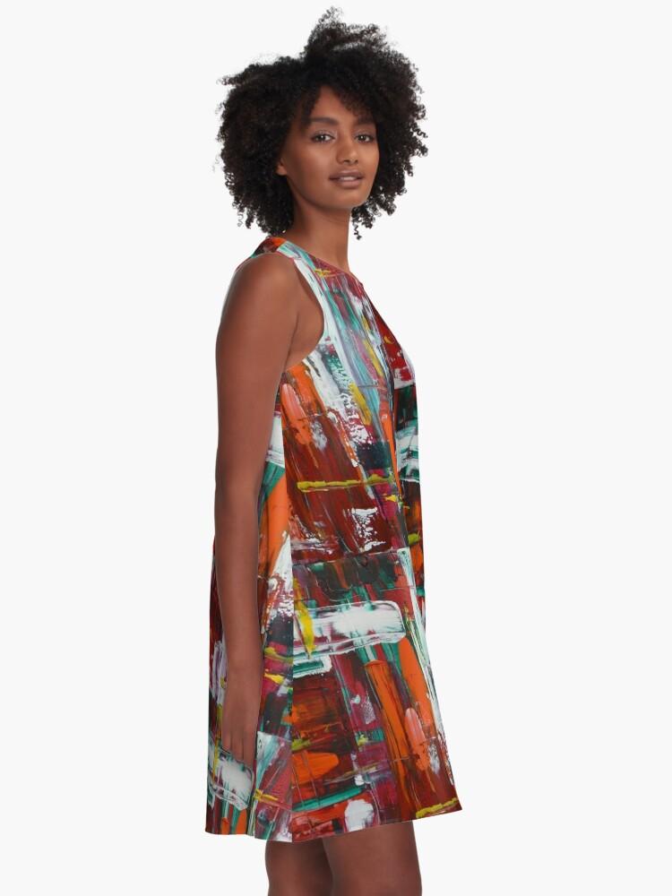 Alternate view of AbunDance A-Line Dress