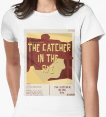 Catcher In The Rye - Vintage Movie Poster Style Women's Fitted T-Shirt