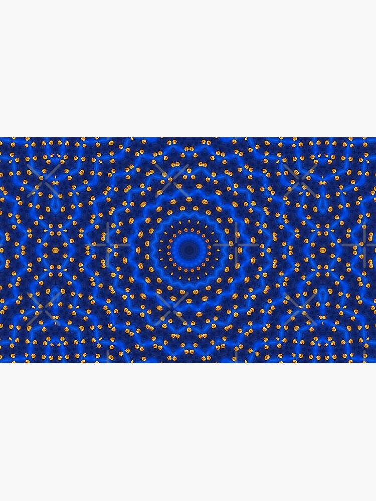 Ente auf Blau Kaleidoskop Klein von pASob-dESIGN