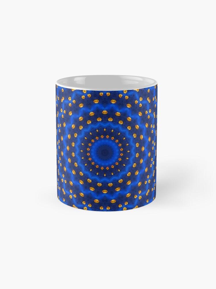 Alternative Ansicht von Ente auf Blau Kaleidoskop Klein Tassen