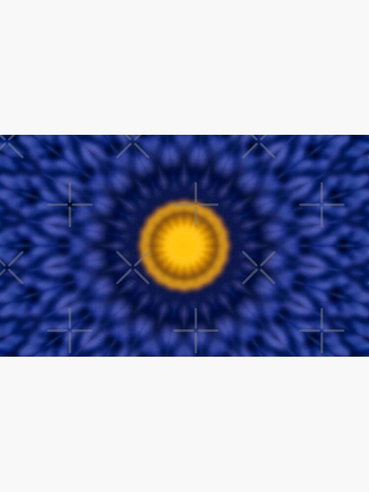 Ente auf Blau Kaleidoskop von pASob-dESIGN