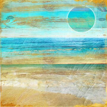 Turquoise Moon Day by mindydidit