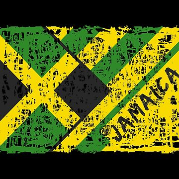 Jamaica Flags Design / Gift Caribbean by Rocky2018