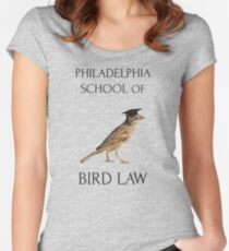 Philadelphia School of Bird Law Women's Fitted Scoop T-Shirt
