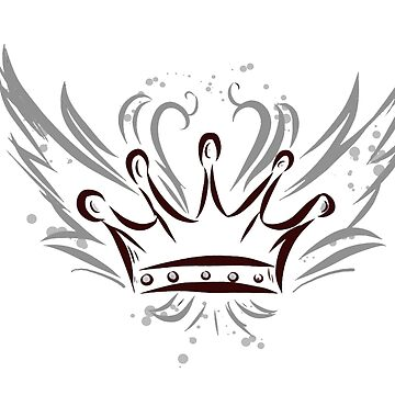 Crown with wings by matches1