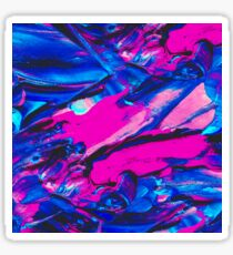 Marble Abstract Oil Painting Sticker