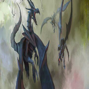 fwc 5557 Fantasy   Dragon by fwc-usa-company
