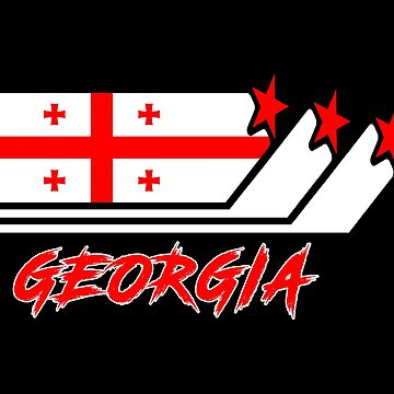 Georgia flags design / national flag gift by Rocky2018