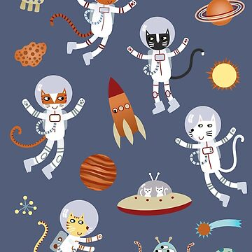 Space Cats by squirrell