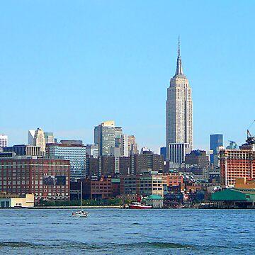 Manhattan Skyline Seen from Hoboken, NJ by SudaP0408