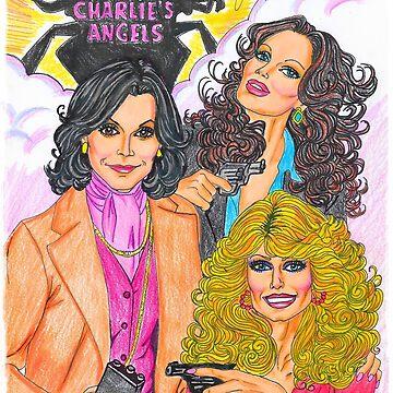 "Charlie's Angels ""Girls with Guns & Hair"" by 3BadAngels"