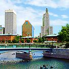 View From Waterplace Park by Susan Savad