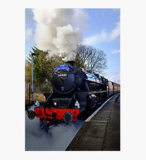 The Jacobite Steam Train. Photographic Print