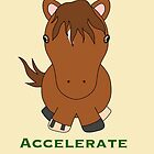 Accelerate  by jf-equineart
