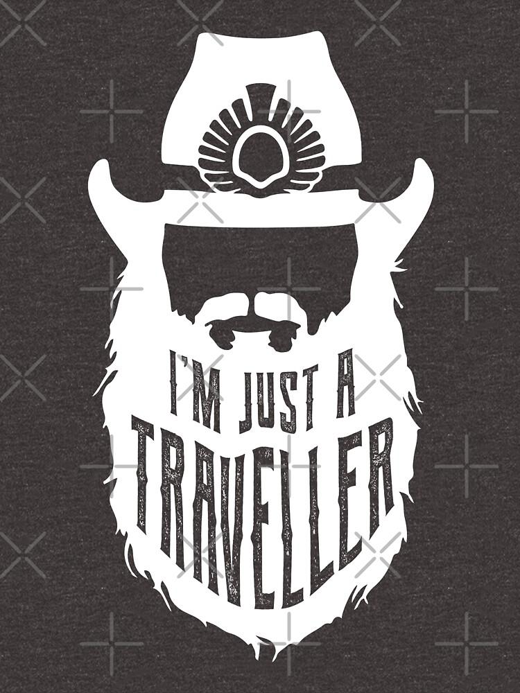 I'm Just A Traveller by Brandonart