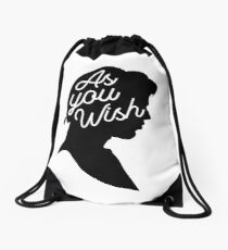 As You Wish Drawstring Bag