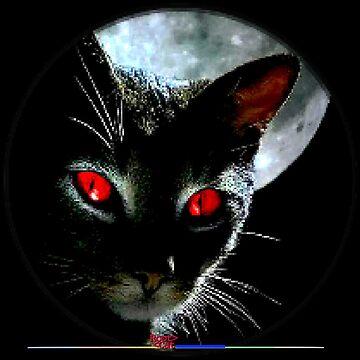 social black cat 2 by Grimm-Land