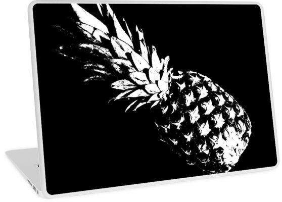 Monochrome Ananas: Modern, cool und etwas düster von adrianachroniq
