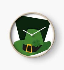 St Patricks day Hat Clock