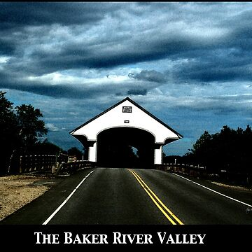 Baker River Valley Poster by waynedking