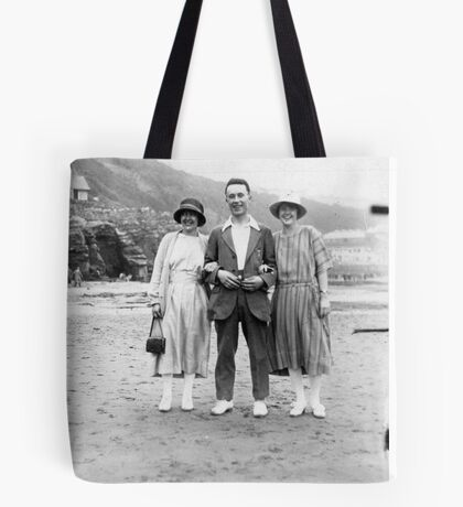 On The Beach - Scarborough  1930's. Tote Bag