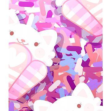 Kitty Cupcakes: Natsuki by darkmagicswh