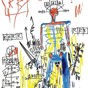 Jean-Michel Basquiat, Untitled (1982), Artwork, Tshirts, Posters, Prints, Tshirts, Men, Women, Kids by clothorama