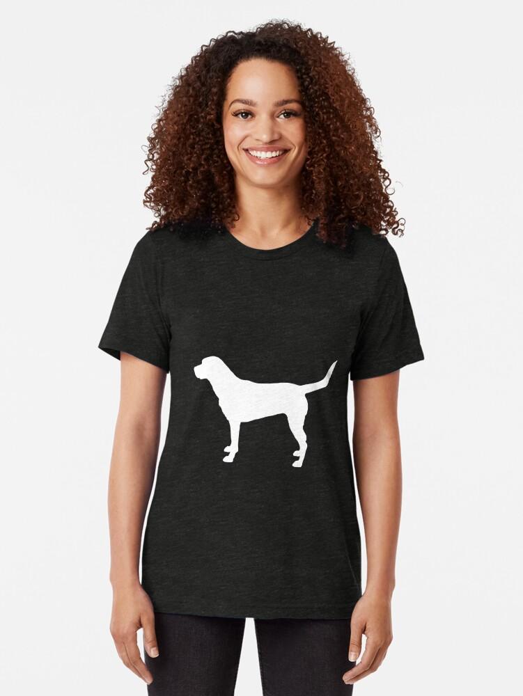 Vista alternativa de Camiseta de tejido mixto Labrador