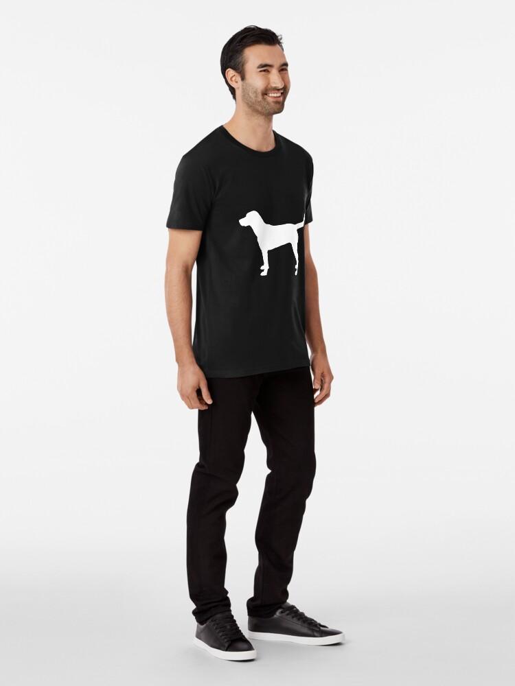 Vista alternativa de Camiseta premium Labrador