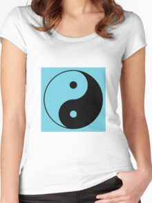 YinYang Women's Fitted Scoop T-Shirt