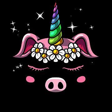 Chinese New Year 2019 Pig Pigicorn Gift by nikolayjs