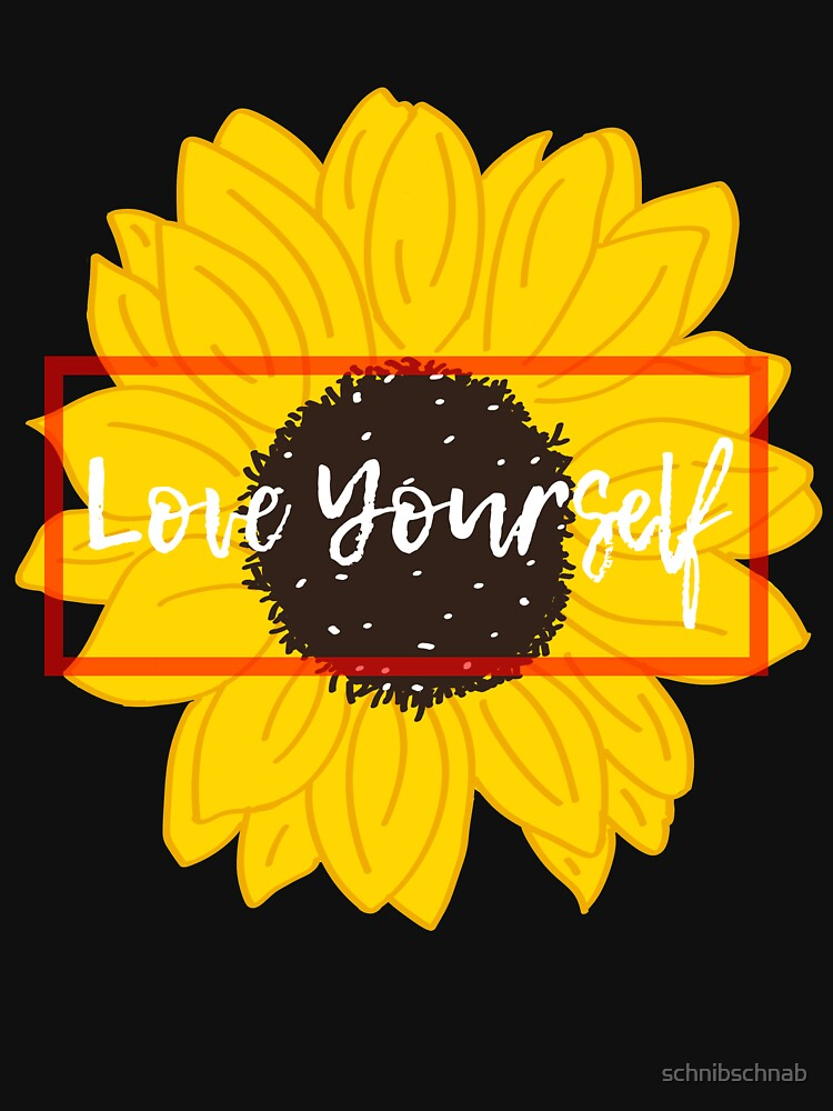 LOVE YOURSELF by schnibschnab