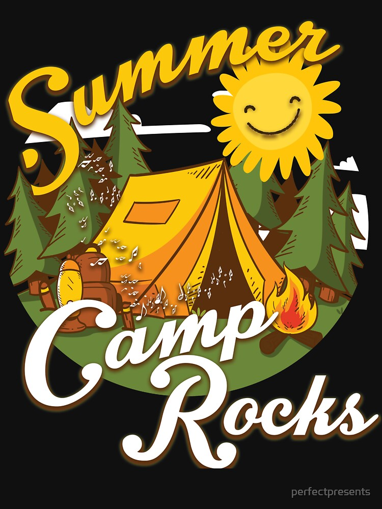 Cute Summer Camp Rocks Camping for Campers by perfectpresents