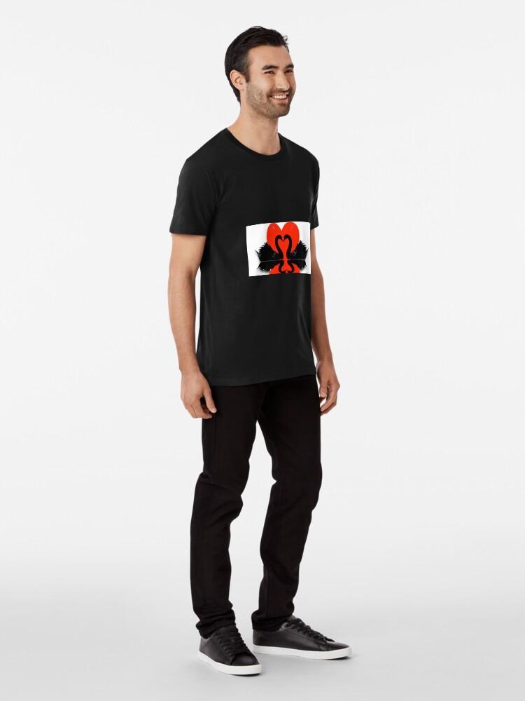 Alternative Ansicht von Schwäne Premium T-Shirt
