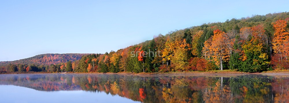 Autumn panorama by snehit