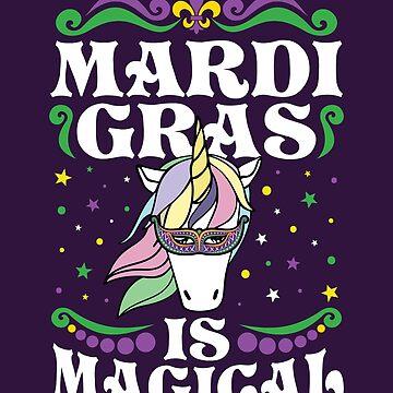 Mardi Gras Unicorn by jaygo