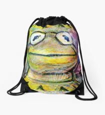 Being Green Drawstring Bag
