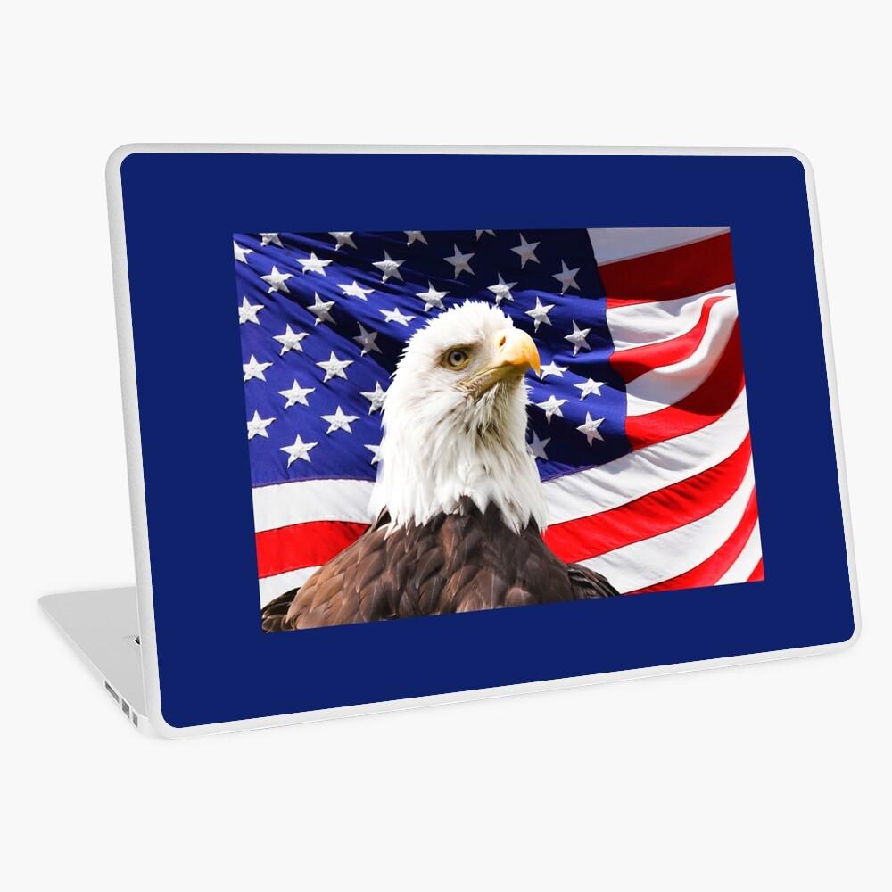 amerikanischer Adler Laptop Folie