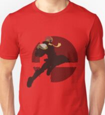 Captain Falcon (Smash 4, Knee of Justice) - Sunset Shores T-Shirt