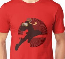 Captain Falcon (Smash 4, Knee of Justice) - Sunset Shores Unisex T-Shirt