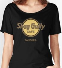 Skag Gully Cafe (undistressed) Women's Relaxed Fit T-Shirt