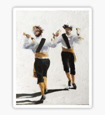 Morris Dancers Sticker
