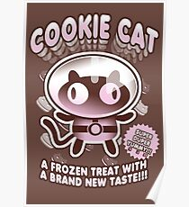 Cookie Cat Parody Poster