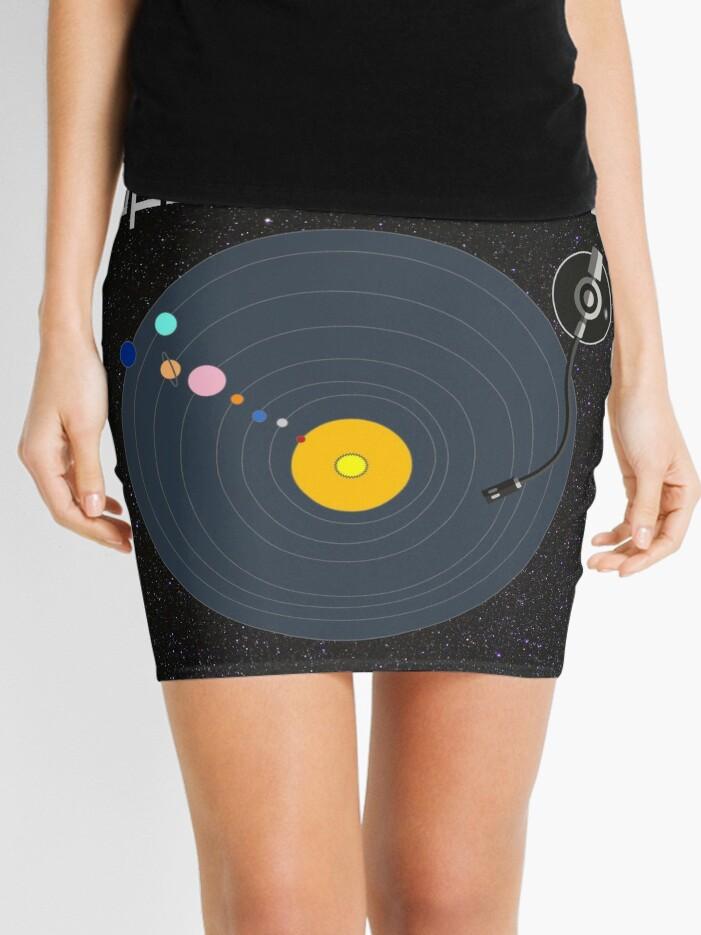Open Format DJ T-shirt | Mini Skirt