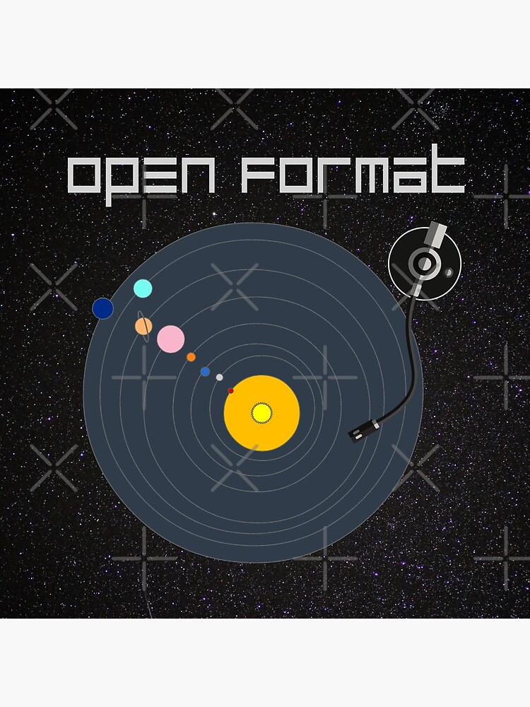 Open Format DJ T-shirt | Tote Bag